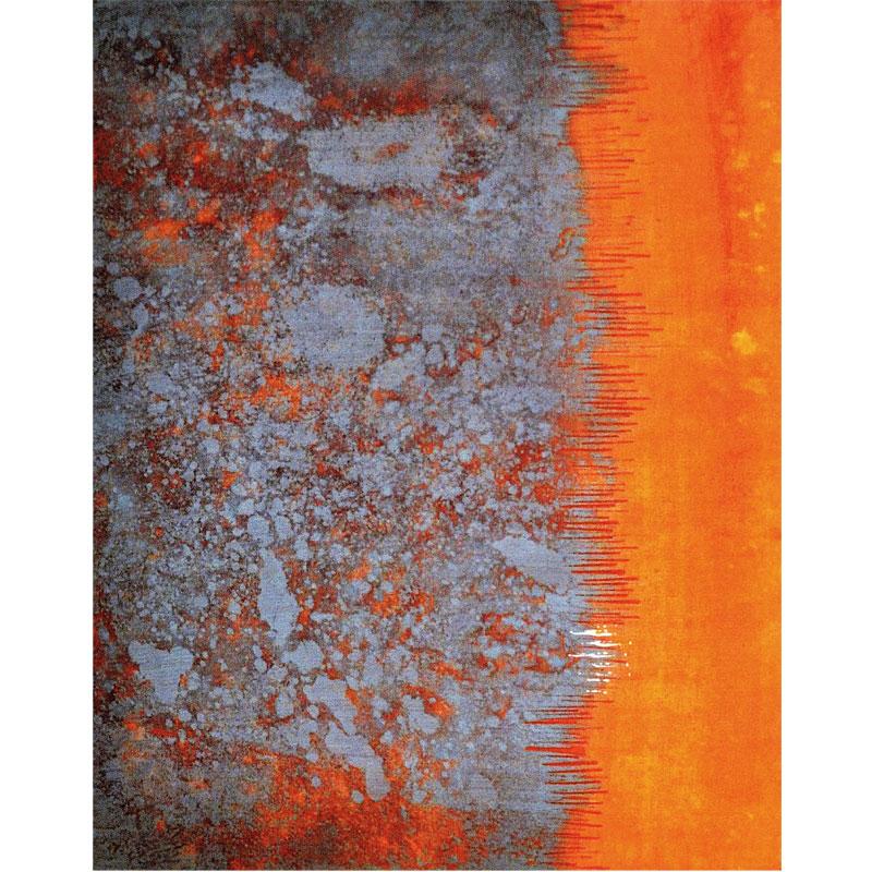 Spuren der Zeit X I 2014 Mischtechnik mit Acryl auf Leinwand I 40 x 50 cm