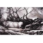 Überbrücken(d) 2017 I Pastellkreide 60 x 40 cm